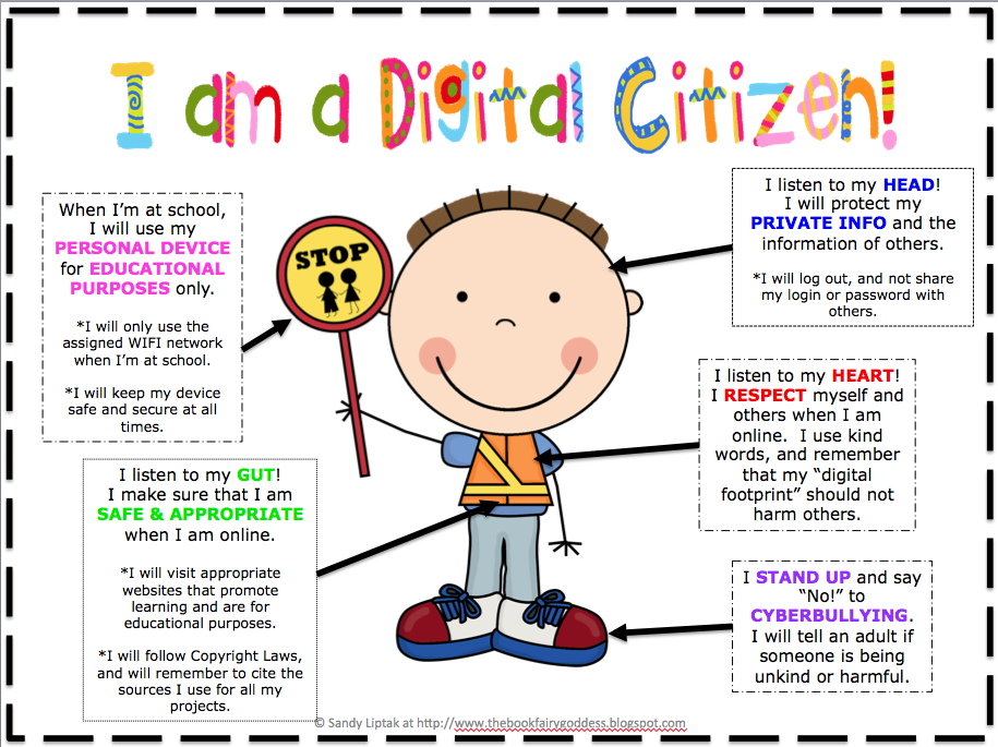 Definition Of Classroom Design ~ Digital citizenship lessons by sandy