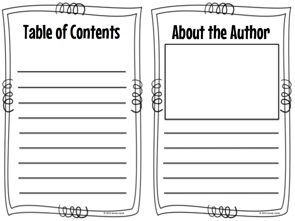 blank book template for kids - researching with 1st grade teaching good research steps