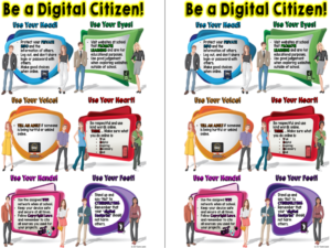 Digital Citizenship with middle and high school