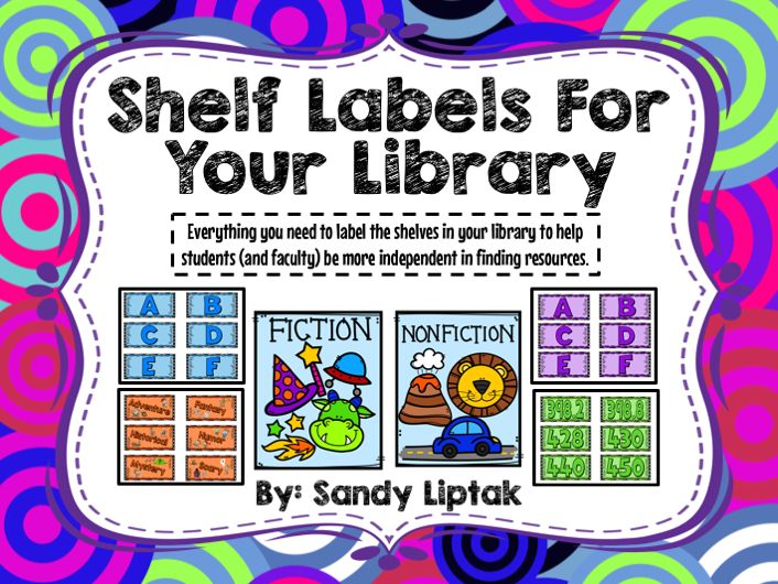 Exceptional image intended for library shelf labels printable